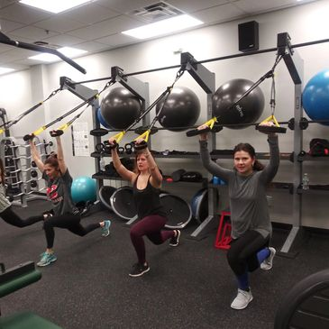 Our TRX Class is fun, challenging, engaging and really helps educate & push you. Suspension training
