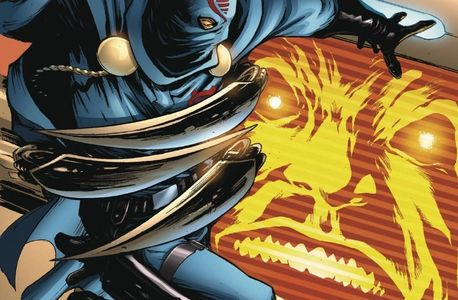 cobra commander vs. dr. genome and dr. mind bender in gi Joe new comics