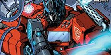 transformers idw comic coloring