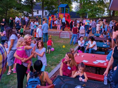 Ice Cream Social on the Hilltop Playground