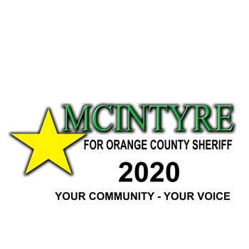 Eric McIntyre  for Orange County Sheriff 2020