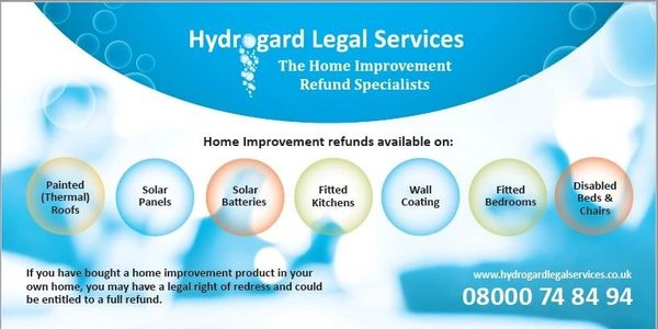 Hydrogard Legal Services - Home Improvement and Finance Refund Specialists