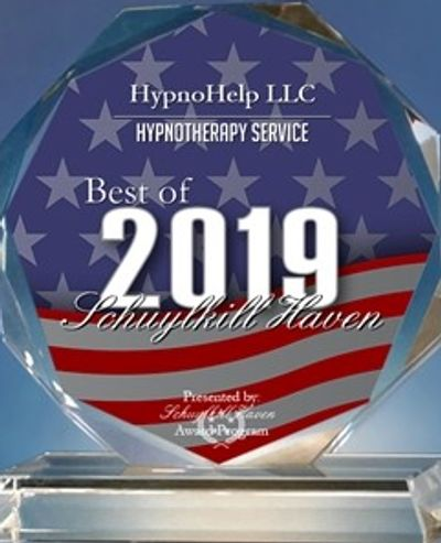It is our pleasure to inform you that HypnoHelp LLC has been selected for the 2019 Best of Schuylkil