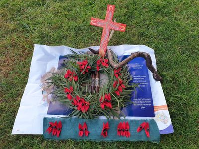 Frontier Wars Wreath Sturt Desert Pea Memorial
