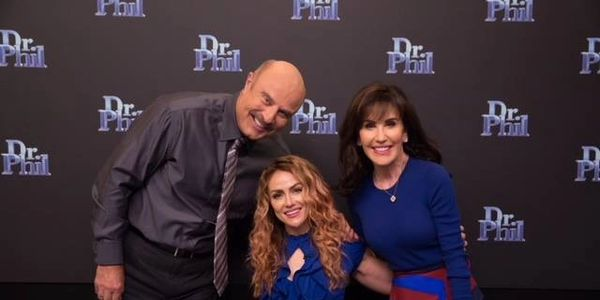 Tiphany on the Dr.Phil show helping a troubled teen
