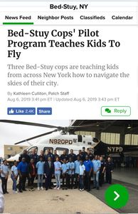 Bed- Stuy Cops Pilot Program Teaches Kids To Fly