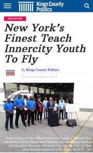 New York's Finest Teach Inner-city Youth to Fly