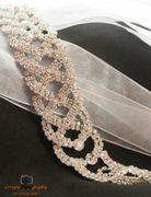 Veils, belts, jewelry, gloves and purses are available at Antoinette's Bridal