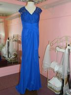 Long blue dress, prom, wedding dress, bridesmaid dres