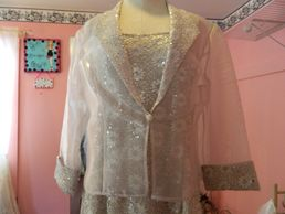 dress with jacket, mother's dress, Antoinette's Bridal, Rochester, Finger Lakes