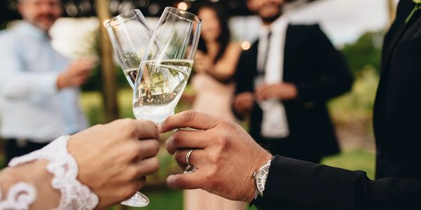 Champagne Sparkling Wines Wedding