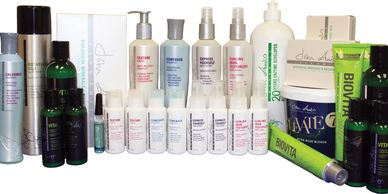 John Amico Discovery kit full of professional hair care products