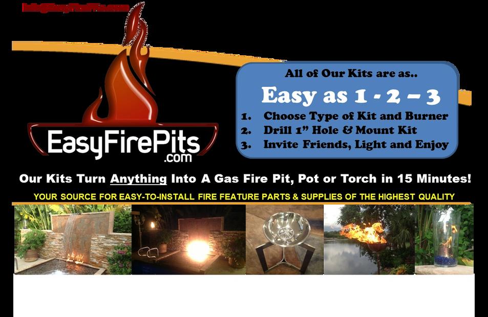 Pick Your Kit Pick Your Burner Easyfirepits Com