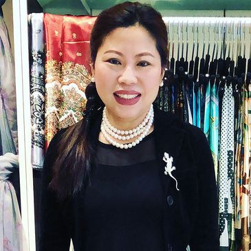 Meimei Covert, the founder and head jewelry designer at Eastern Coral.