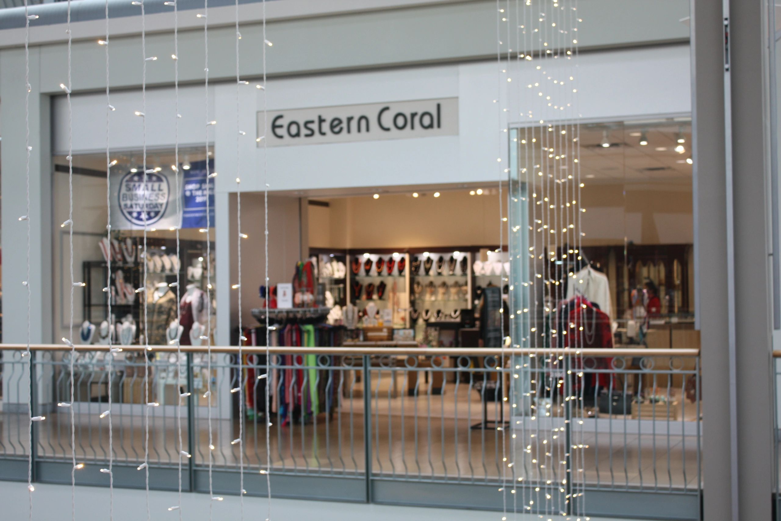 Eastern Coral Store Front in the Mall in Columbia, Columbia Maryland.