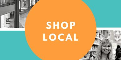 Shop Local to support community economic growth. spend a dollar and .67 cents remains local