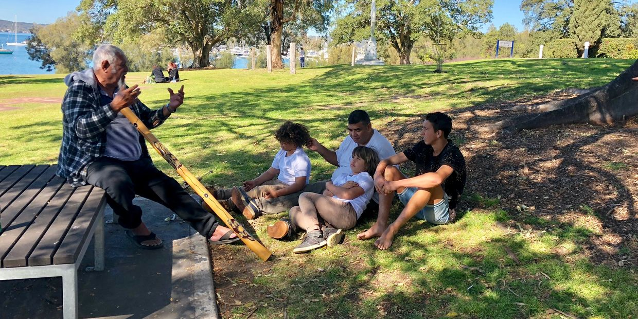 Connecting Aboriginal children to culture Storytelling Sharing traditions Newcastle