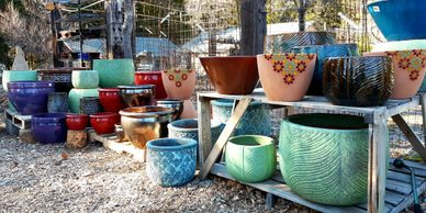 Outdoor; pottery; frost resistant; terra cotta; ceramic.