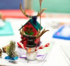 fairy winter garden art craft date night kid entertainment create