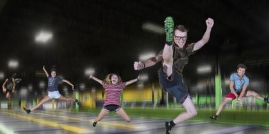 Vertical Jump Park, Trampoline Courts, Erie, PA,  Close to Presque Isle State Park