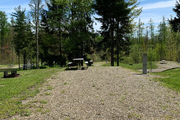Campground near Erie PA, Presque Isle State Park, Sparrow Pond, RV Sites, Water & Electric Site
