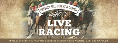 Presque Isle Downs & Casino, Live Horse Racing, Slots, Tables, Poker, Restaurants, Erie, PA
