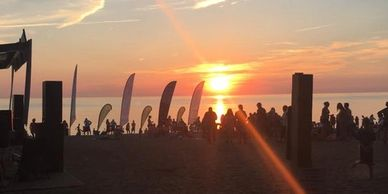Presque Isle State Park, Sunset, Music Series, Beach, Erie, PA, Beautiful Sunsets