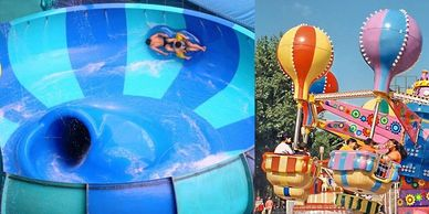 Waldameer Amusement Park & Water World, Erie, PA, Near Presque Isle State Park, Water Park, Family Fun, Rides, Games