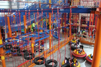 Multi Level Ropes Course.