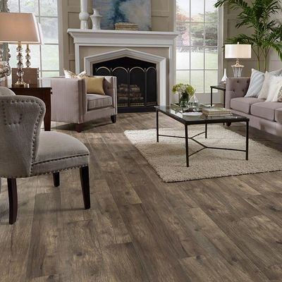 Laminate Mannington Hillside Hickory Stone available through Warehouse Carpets Luthersville.