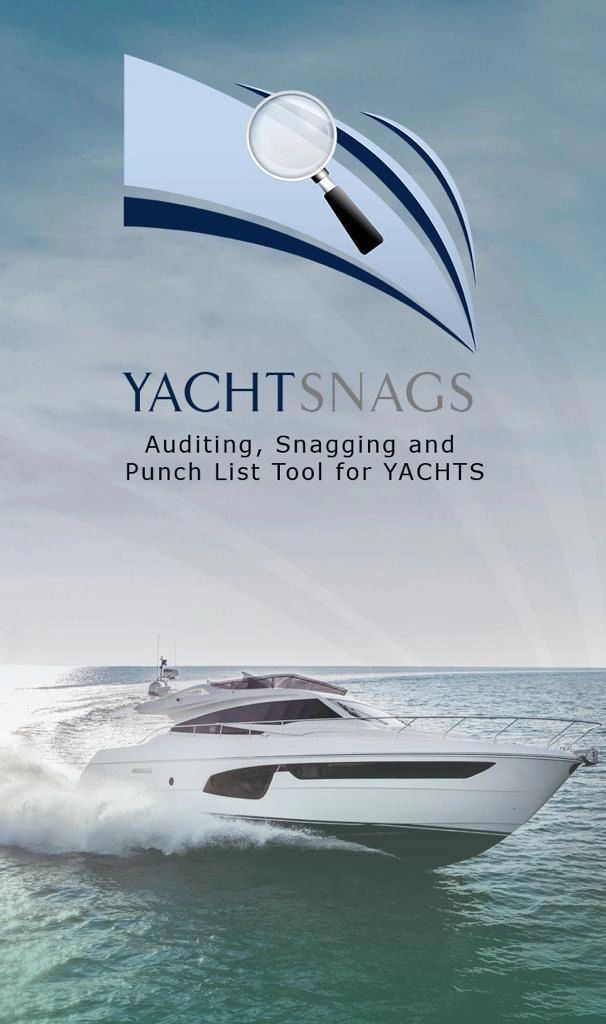 Yacht Snags snagging and punch list mobile app for Yachts.