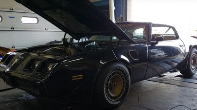 1981 Turbo Trans Am 301 4.9 Dyno