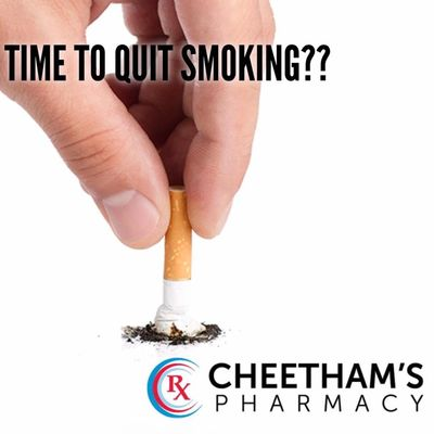 Smoking Cessation - Quit Smoking - Cheetham's Pharmacy Saskatoon