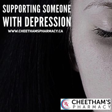 Supporting someone with depression - Cheetham's Pharmacy - Saskatoon