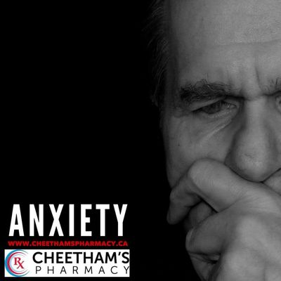 Anxiety - Cheetham's Pharmacy - Saskatoon
