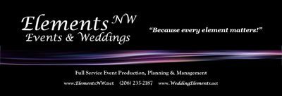 Elements NW Events & Weddings, LLC if a full service event planning and production company.