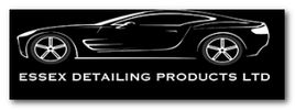 Essex Detailing Products Ltd logo in greyscale.