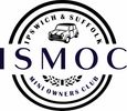 Logo of ISMOC, a friendly club for the Classic Mini in the Ipswich and Suffolk area.