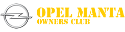 Logo of the Opel Manta Owners Club