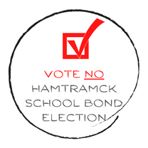 Vote NO Hamtramck School Board Millage (Bond)