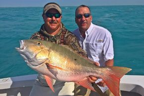 Mutton snapper fishing in the Florida Keys