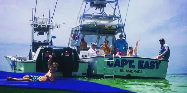 Islamorada Florida Keys sandbar fun.