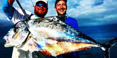 Deep sea fishing charters for african pompano