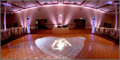 Wedding Monogram - Name in Lights