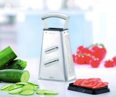 gefu, grater, laser cut, veggies, german, innovative