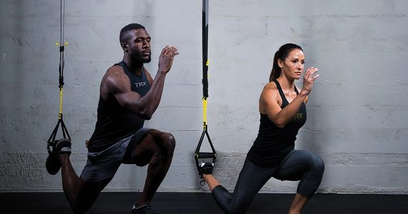 TRX Training helps beginners, athletes, runners, yogis, cyclists, and cross-trainers.