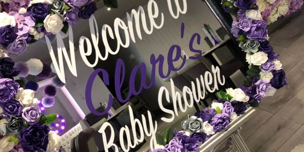 Venue hire for baby showers