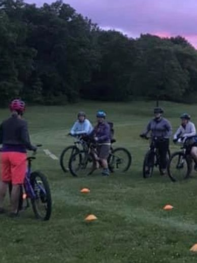 Women's Mountain Bike Instruction, Women's Mountain Bike Camp/Clinic Silver Lake Park