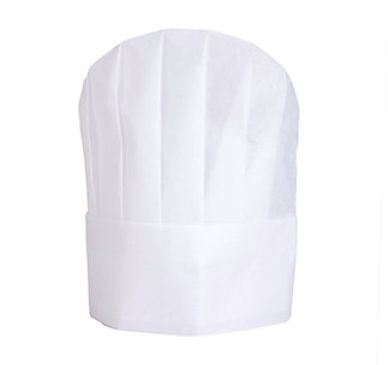 Non Woven Pleated Junior Chef Hat - Better than Paper but More Afordable than Cloth!