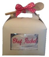 KIDS CHEF COAT AND CHEF HAT GIFT BOX SET